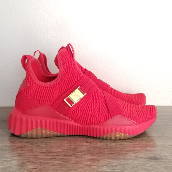 Puma Defy Mid Sneakers Red
